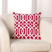 Checkerboard, Ltd Linked Throw Pillow