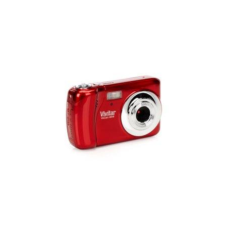 - Vivitar Vivicam VX018 Strawberry Red 10.1MP Digital Camera, 1.8