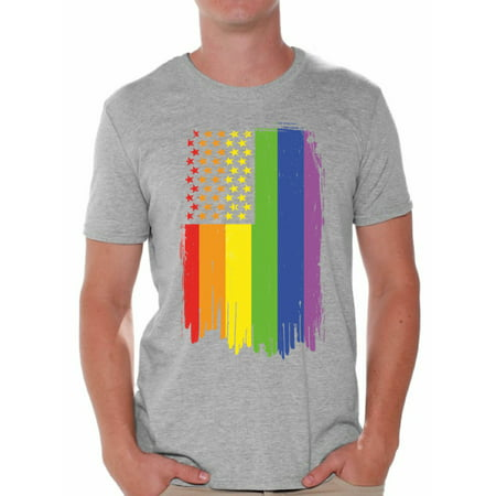 Awkward Styles Gay Shirt for Him Gay Pride Flag Tshirt for Him Gay Shirt for Friend Rainbow T Shirt LGBTQ Clothing Gay Rights Gay Mens Shirt Gay Flag T Shirt Rainbow Gay T Shirt Cute Mens Tshirt