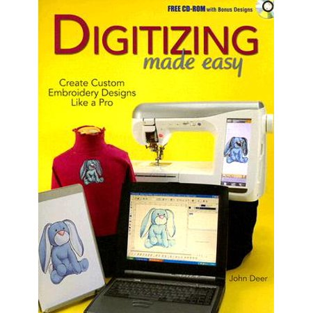 Machine Embroidery Magazine (Digitizing Made Easy : Create Custom Embroidery Designs Like a)