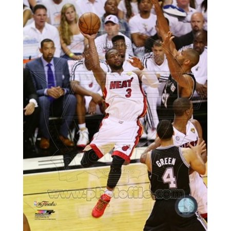 Dwyane Wade Game 2 of the 2013 NBA Finals Action Sports Photo