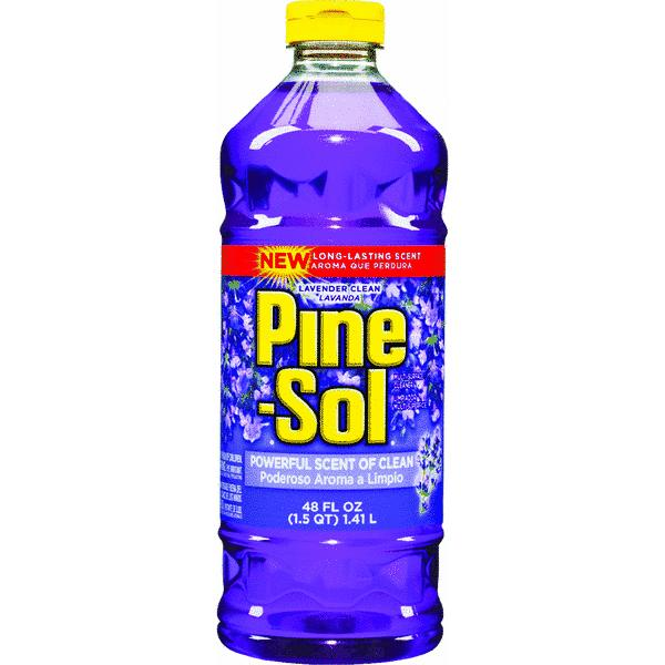 Pine-Sol Multi-Surface Cleaner,  Lavender, 48 Fluid Ounce Bottle
