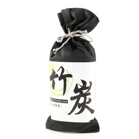 Car Hanging Decor Bag Bamboo Charcoal Air Filtration Deodorant Black - image 1 de 1