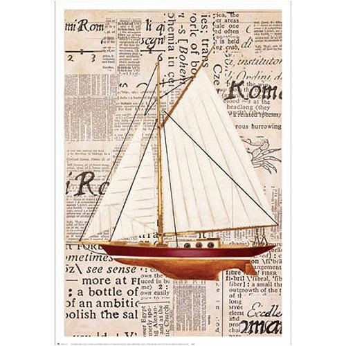 Art 4 Kids Nautical Motif II Frame Art