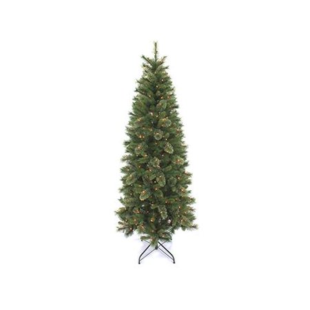 equinox 2 ocp 31q1 70 artificial pre lit christmas tree slim oak