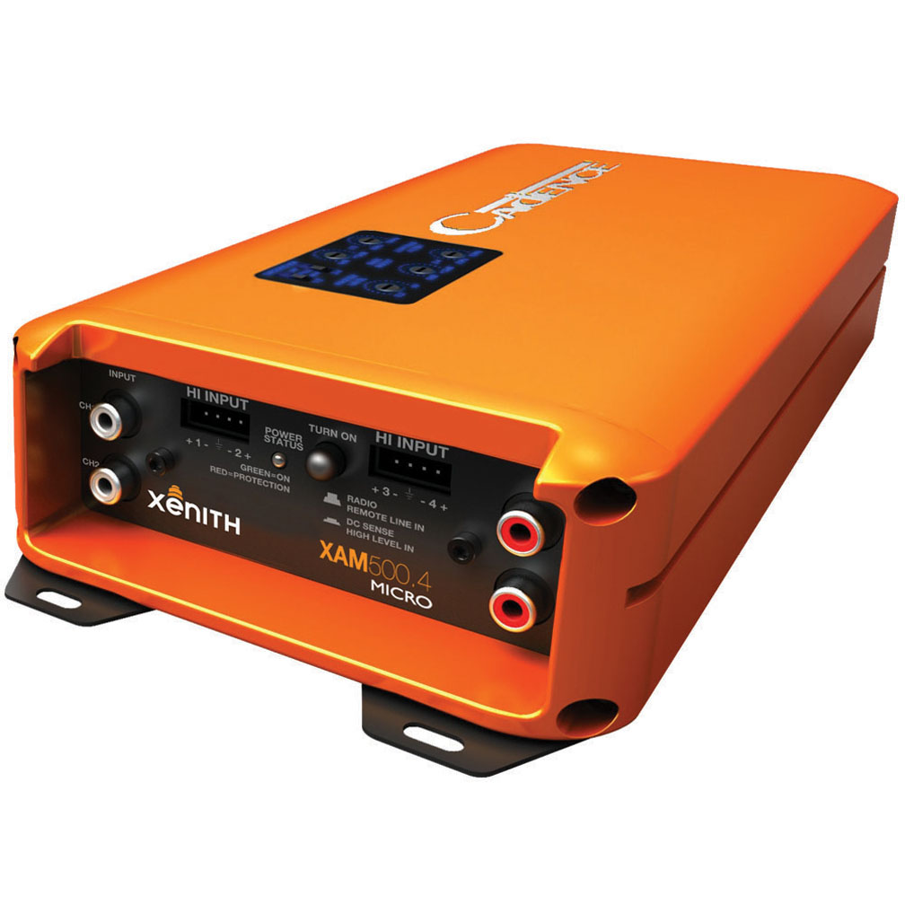 Cadence Sound XAM5004 Cadence Class D Full Range 4ch. 125x4 @ 2ohm