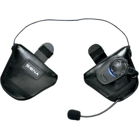 7ab29e7f6ec Sena SPH10H-FM Bluetooth Stereo Headset w/FM Tuner for Half Helmets SPH10H- FM-01 - Walmart.com