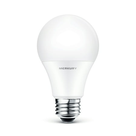 check out 4de25 bedef Merkury Innovations A19 Smart Light Bulb, 60W Dimmable White LED, 1-Pack