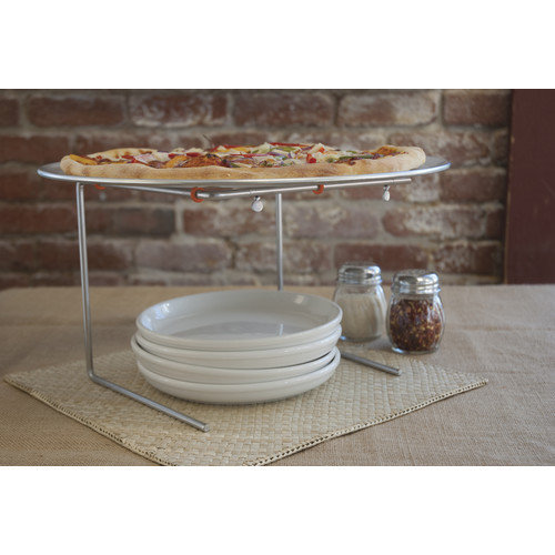 Pizzacraft Large Pizza Pan & Serving Stand Set