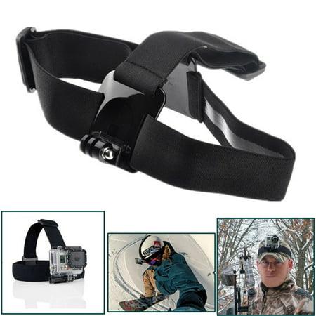 Headband Adapters Kit - Outdoor Head Strap Adjustable Elastic Mount Belt Headband Adapter For HD Hero gopro accessories 3/3+4/5/6 Camera