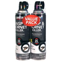 Eliminator Wasp and Hornet Killer, Aerosol Spray, 2/17-Ounce