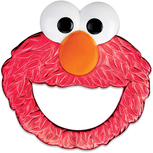 Munchkin Sesame Street Fun Face Teether, BPA-Free