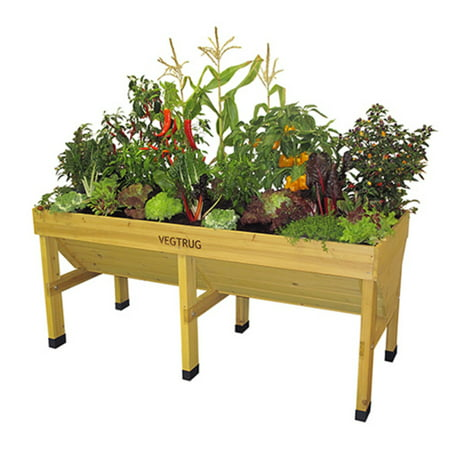 VegTrug Elevated Planter Bed (Best Wood For Planter Boxes)