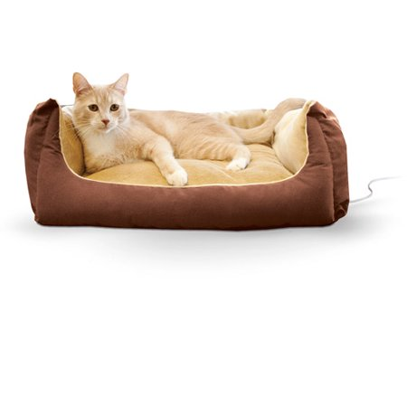 K&H Thermo-Pet Cuddle Cushion, Mocha, 14