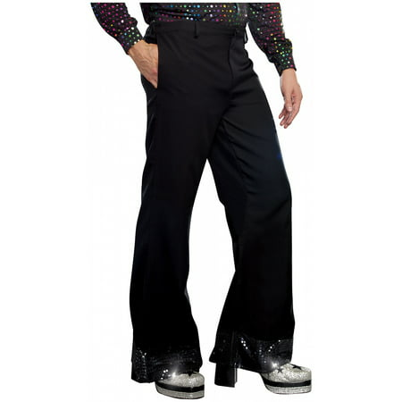 Mens Disco Pants Adult Costume - XX-Large - Mens Pleather Pants Halloween Costume