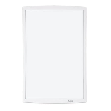 Quartet Magnetic Dry-Erase Board with Curved Frame, 11