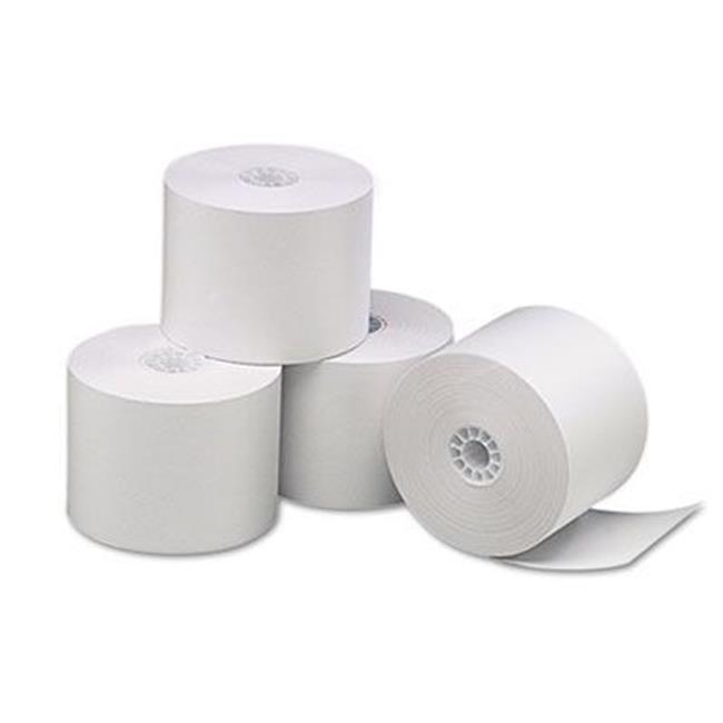 Adorable Supply B214150HY 1-Ply White Bond Paper Rolls  2...