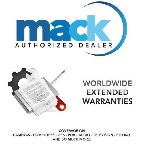 Mack 3 Year Extended - In Home - Warranty, for TV's with a retail Value of up to $1250.00