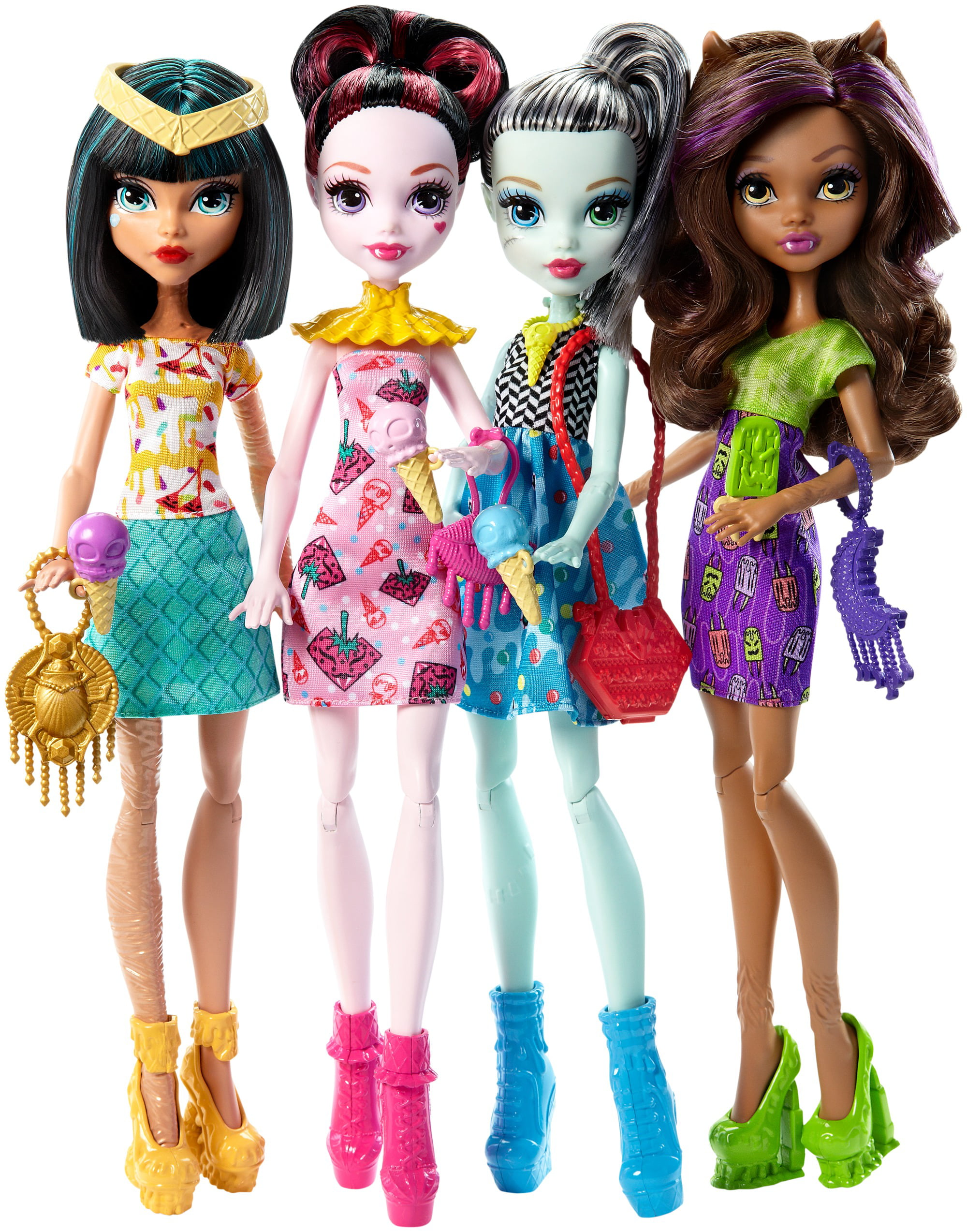 Monster High Ice Scream Ghouls Doll 4-Pack by MATTEL INC.