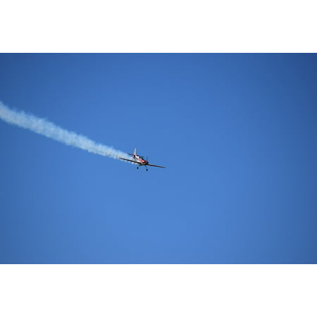 Canvas Print Evolution Plane Sky Airplane Acrobatic Stunt Plane Stretched Canvas 10 x 14