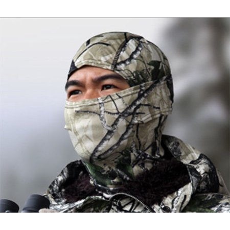 Camouflage Balaclava Face Mask Camo Hunting Airsoft Paintball REAL ARCTIC CAMO