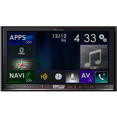 "Pioneer AVIC-8100NEX In-Dash Navigation AV Receiver with 7"" WVGA Capacitive Touchscreen Display by"