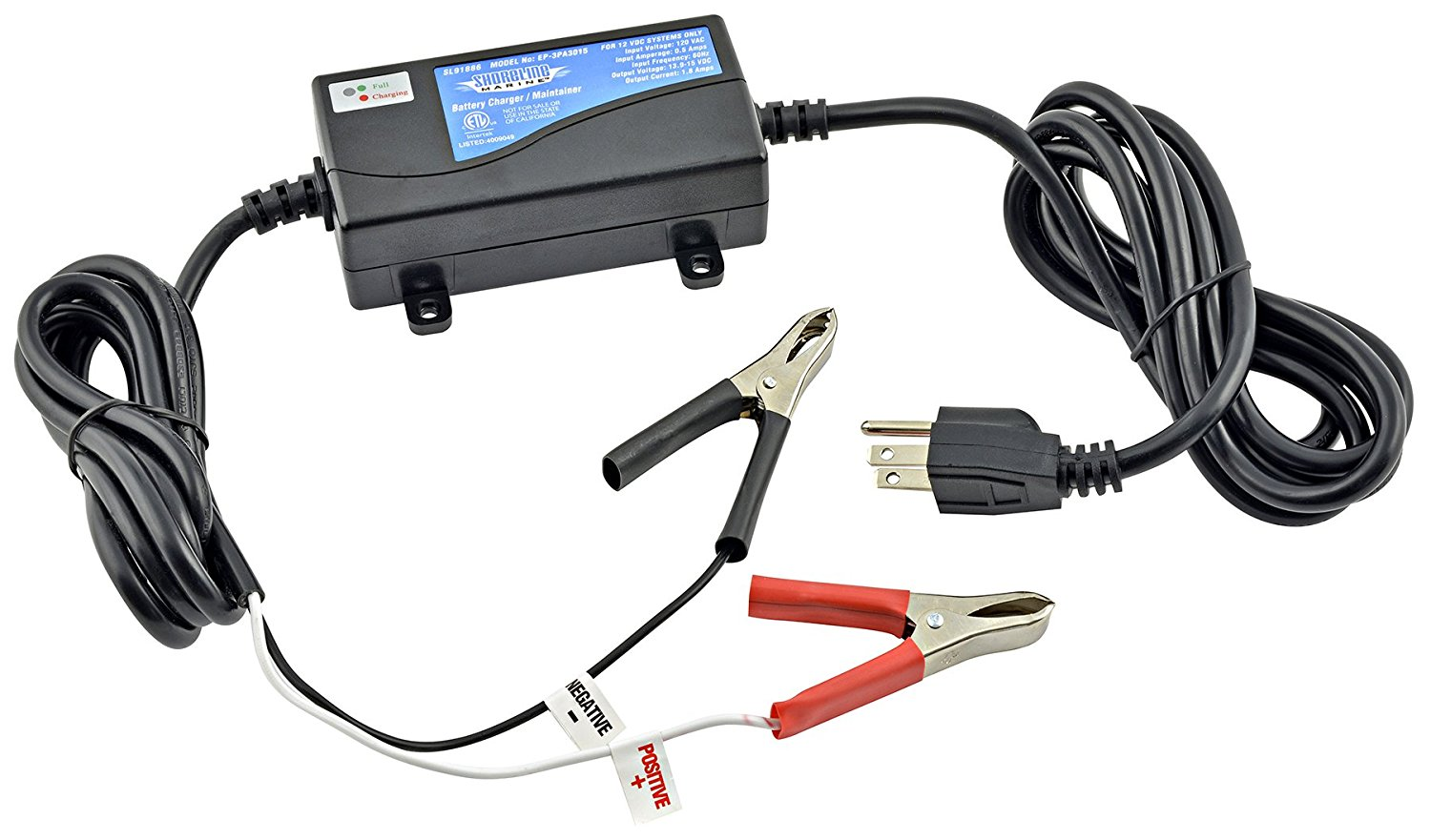 Shoreline Marine 12 Volt Battery Charger 120vac Wiring