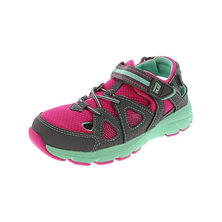 Stride Rite Made 2 Play Ryder Grey / Pink Ankle-High Fashion Sneaker - 3W ()