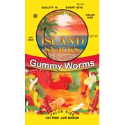 GUMMI WORMS 8 OZ