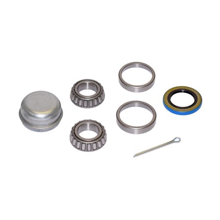 Trailer Bearing Repair Kit For 1 Inch Straight Spindle
