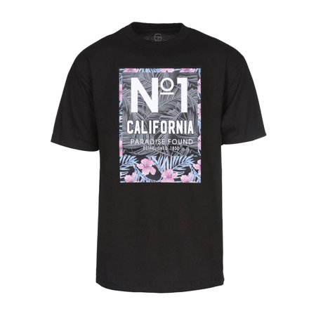 Mens No. 1 Men's California Paradise Found Short-Sleeve T-Shirt - Black, Large - image 1 of 1