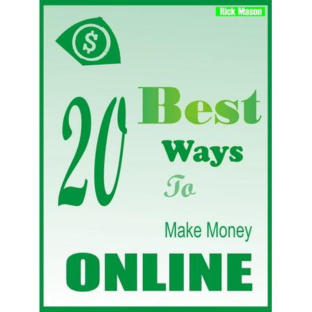 Best 20 Ways to make Money Online - eBook (Best Way To Thaw Frozen Water Lines)