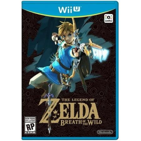 The Legend Of Zelda  Breath Of The Wild  Nintendo  Nintendo Wii U  045496904159