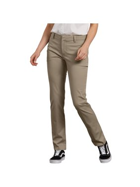 Genuine Dickies Women's Perfectly Slimming Curvy Straight Pant