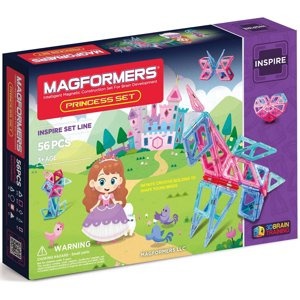 Magformers Princess Set 56 Piece Magnetic Construction Set