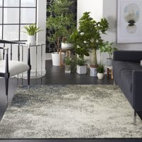 Nourison Passion Charcoal/Ivory Area Rug