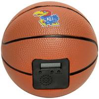 Kansas Jayhawks Buzzerbeater Basketball Alarm Clock - No Size