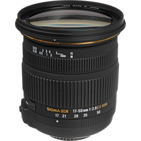 Sigma 17-50mm f/2.8 EX DC OS HSM Zoom Lens for Nikon DSLRs with APS-C