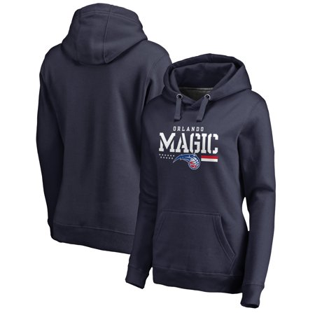 Orlando Magic Fanatics Branded Women's Hoops For Troops Pullover Hoodie - Navy
