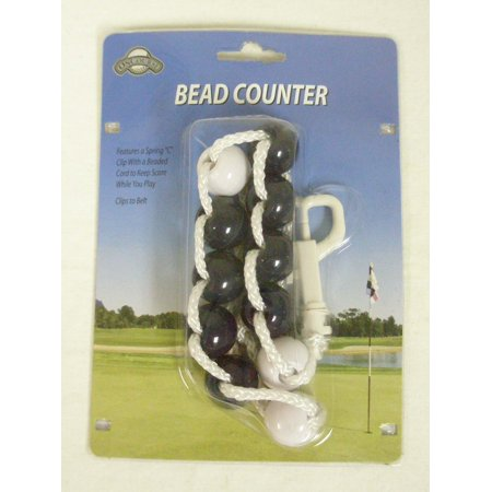 On Course Bead Counter Scorekeeper (Navy) Golf NEW - Glow In The Dark Golf Course