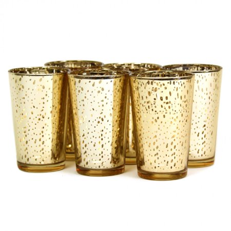 Koyal 12-Pack Antique Votive Cup, 4-Inch, -