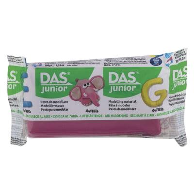 Das Air Drying Clay (Das Junior Air-Dry Clay - Magenta, 100g)