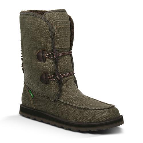 Sanuk Flurry Women's Winter Boots 5 Brown