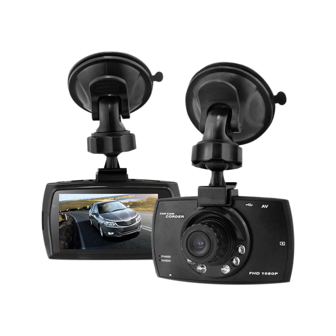 "2.7"" HD 1080P Car DVR Digital Video Recorder Vehicle Camera Camcorder  G-Sensor"