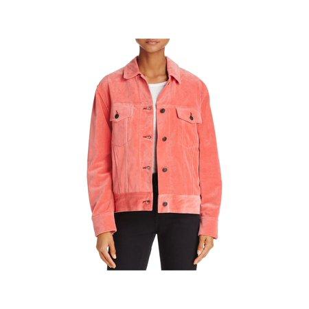 Rag & Bone Womens Velvet Oversized Jacket