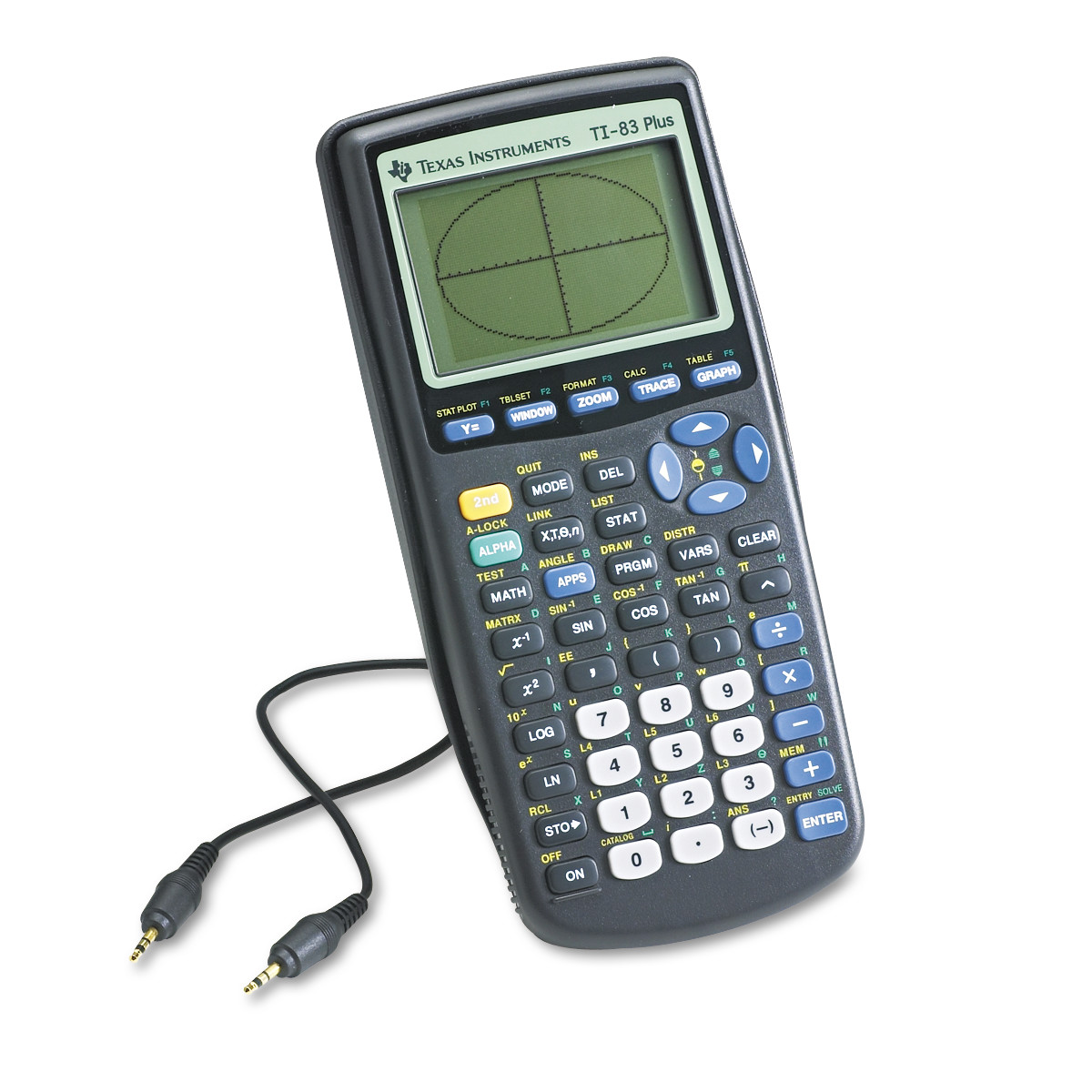 Texas Instruments TI-83Plus Programmable Graphing Calculator, 10-Digit LCD by Texas Instruments, Inc