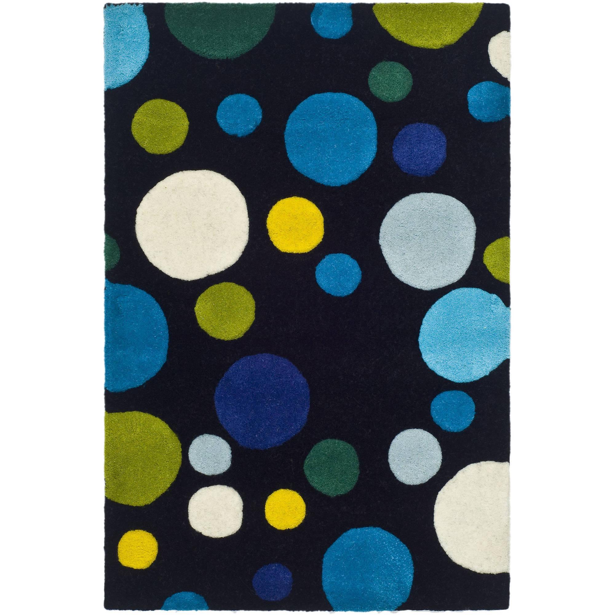 Safavieh Soho Dots Rug, Ivory, Blue and Green