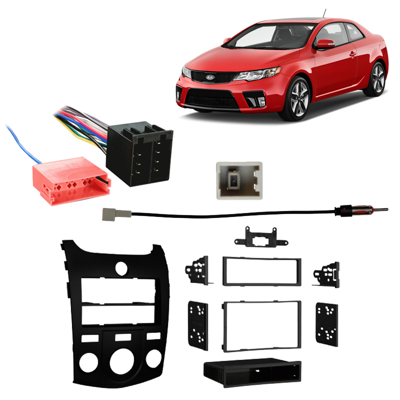 Fits Kia Forte 2010-2013 Factory Stereo to Aftermarket Radio Harness Adapter