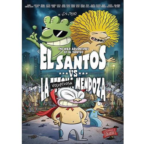 El Santos vs La Voluptuosa Men [DVD]