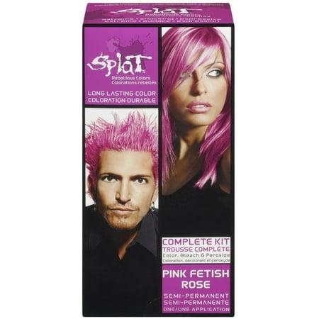 Splat Hair Color Complete Kit, Pink Fetish 1 ea - Gold Pink Color
